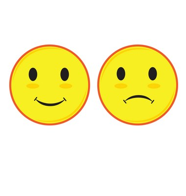Happy face sad face clipart svg free stock Happy and sad face clipart 1 » Clipart Portal svg free stock