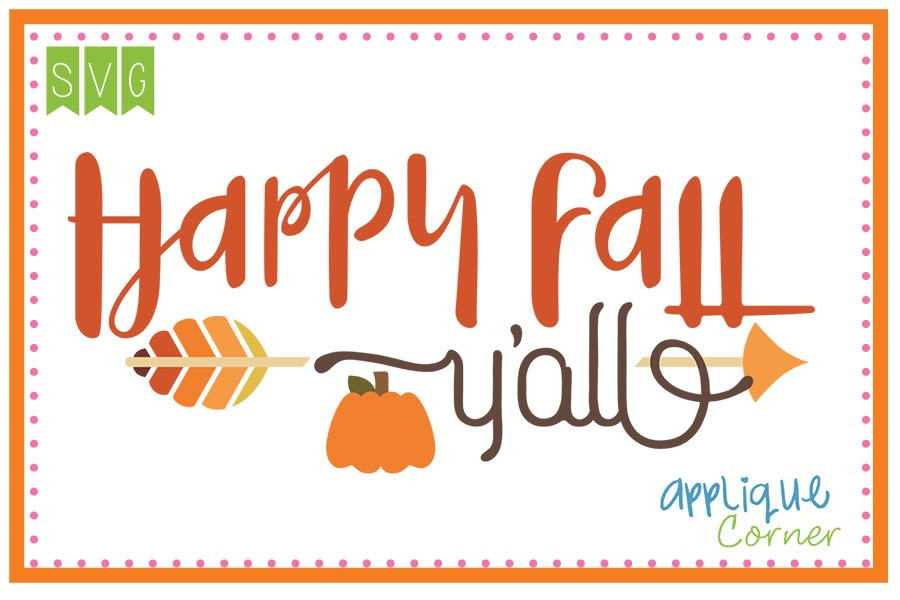 Happy fall yall clipart clip transparent Happy fall y all clipart 8 » Clipart Station clip transparent