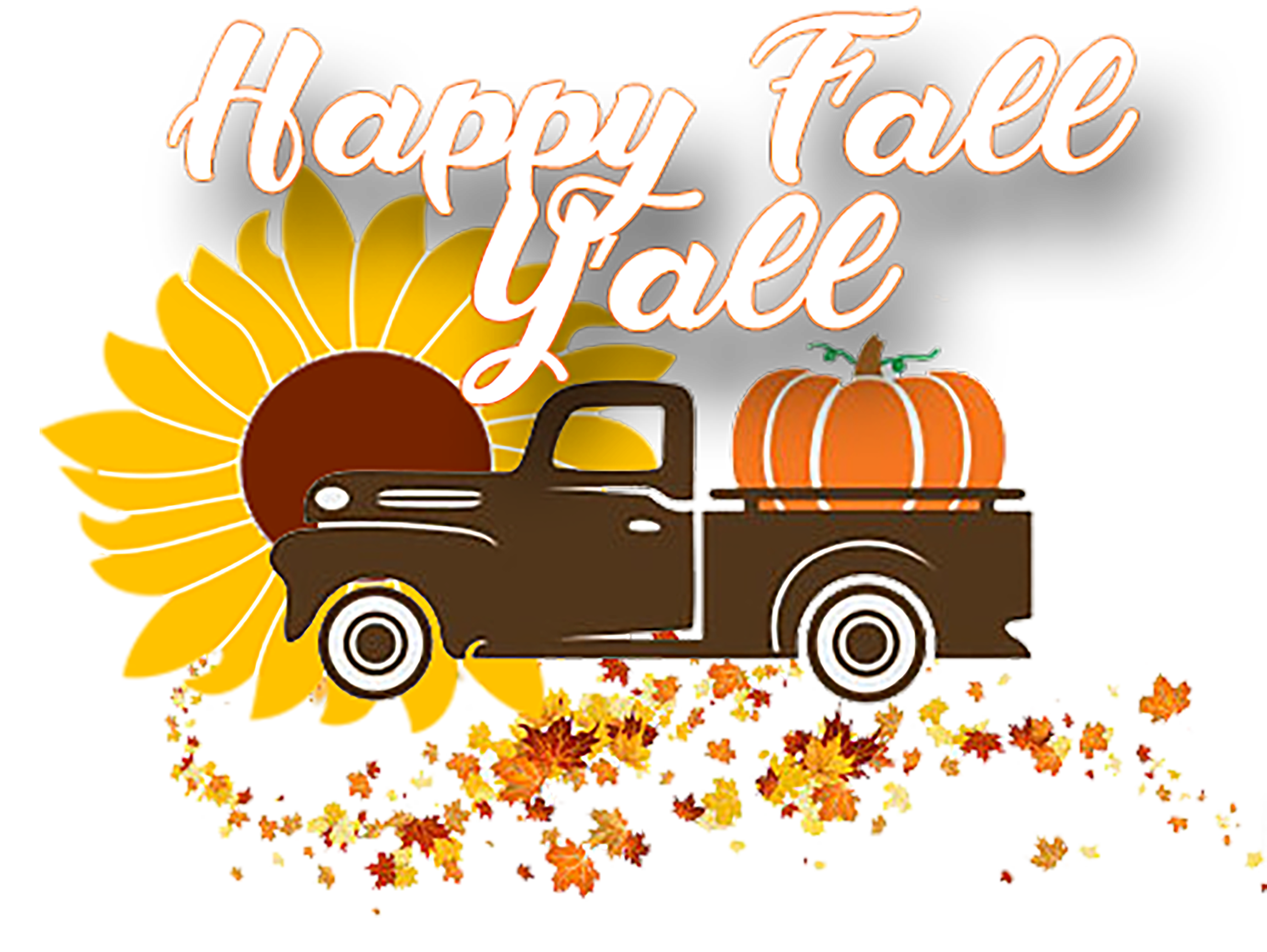 Happy fall yall clipart clip black and white Happy fall yall clipart clipart images gallery for free download ... clip black and white