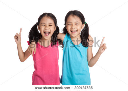 Happy family of 5 clipart 2 girls and 1 boy clip art royalty free Twins Stock Images, Royalty-Free Images & Vectors | Shutterstock clip art royalty free