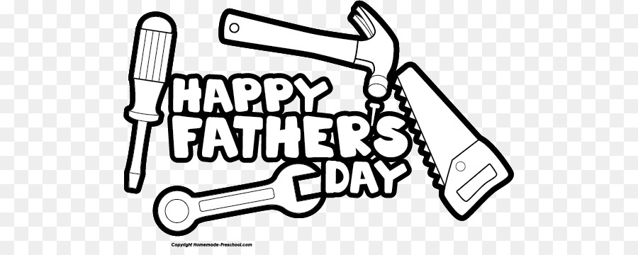 Happy fathers day black and white clipart vector royalty free library Black Line Background png download - 551*349 - Free Transparent ... vector royalty free library
