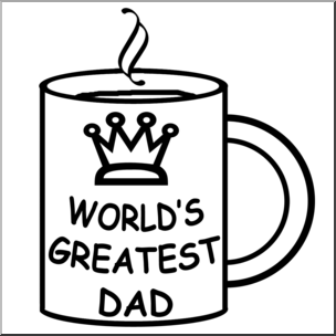 Happy fathers day black and white clipart banner library library Happy Fathers Day Clipart | Free download best Happy Fathers Day ... banner library library