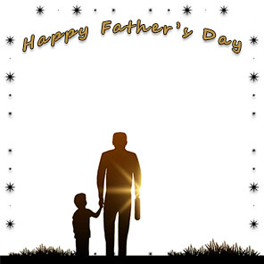 Happy fathers day christian clipart black and white vector free library Fathers Day Borders - Happy Father\'s Day Border Clip Art - Free vector free library