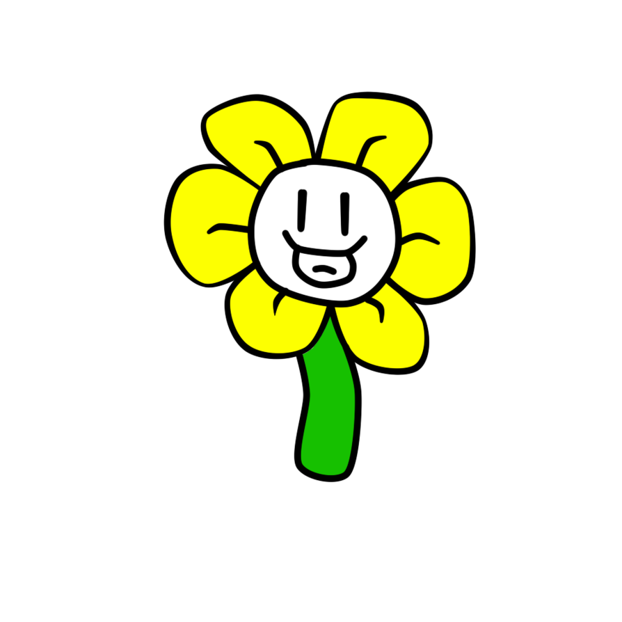 Happy flower clipart picture library Flowey the Flower! by AriDreemurr on DeviantArt picture library