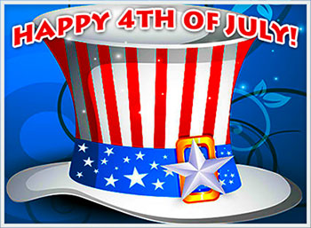 Happy fourth of july clipart for facebook clip library stock Free 4th of July Gifs - 4th of July Clipart - Animations clip library stock