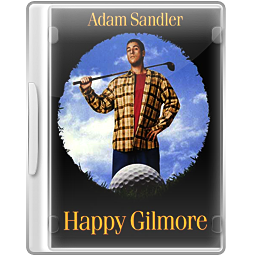 Happy gilmore clipart clip free stock Happy Gilmore DVD Case Icon, PNG ClipArt Image | IconBug.com clip free stock