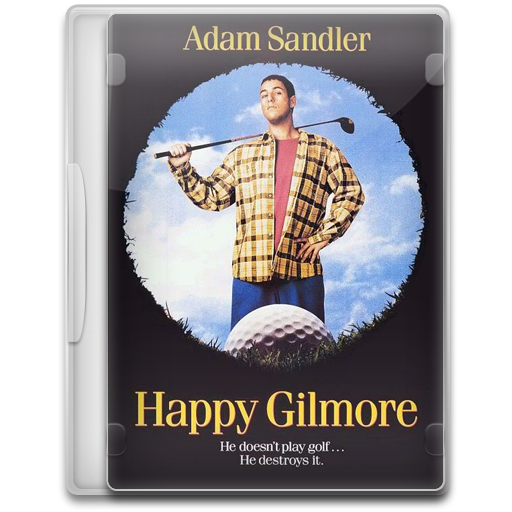 Happy gilmore clipart banner royalty free download Happy Gilmore Icon | Movie Mega Pack 1 Iconset | FirstLine1 banner royalty free download