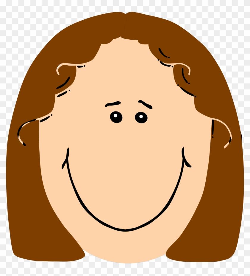 Happy girl face clipart picture transparent Winging-it - Me - Happy Girl Face Clipart, HD Png Download ... picture transparent