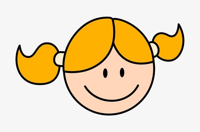 Happy girl face clipart graphic transparent Happy girl face clipart » Clipart Portal graphic transparent