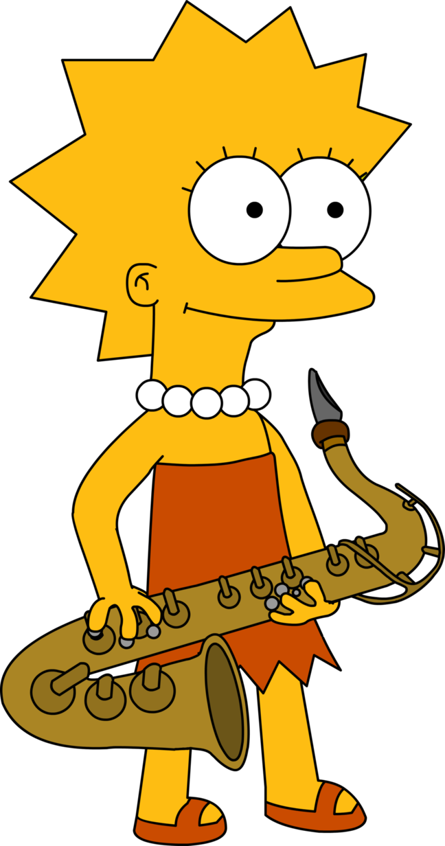 Happy halloween clipart 400 x 150 pixels clipart free download Lisa Simpson - the famous sax player. Our imaginary c-level exec ... clipart free download
