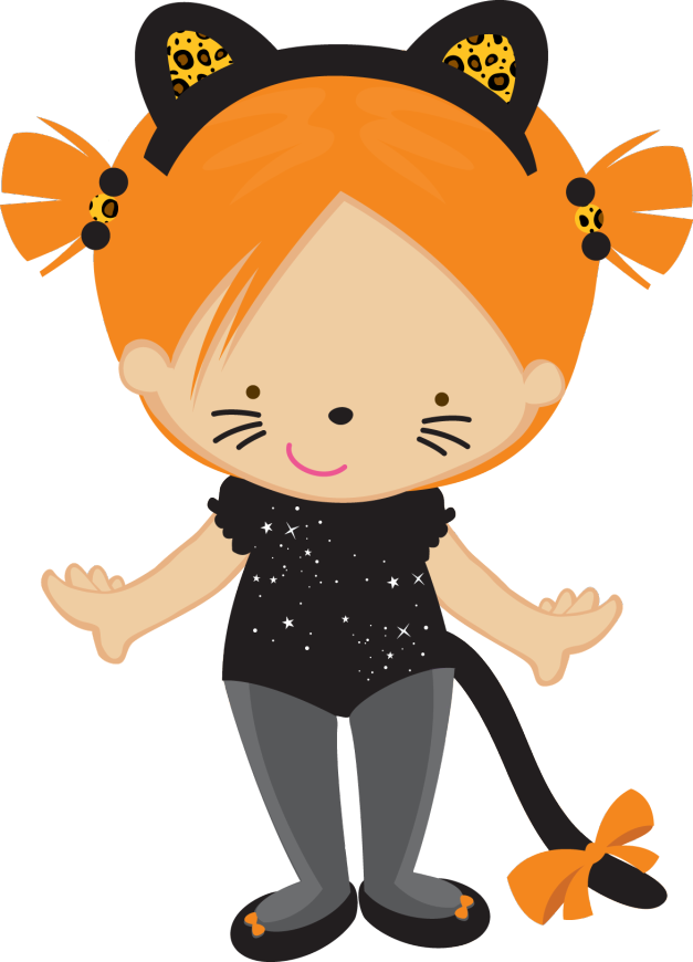 Happy halloween clipart gif clipart black and white library Gifs y Fondos PazenlaTormenta | Muñequitas curiosas | Pinterest ... clipart black and white library