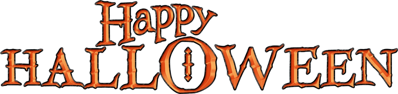 Happy halloween words clipart svg free stock Happy Halloween Word Art – Festival Collections svg free stock