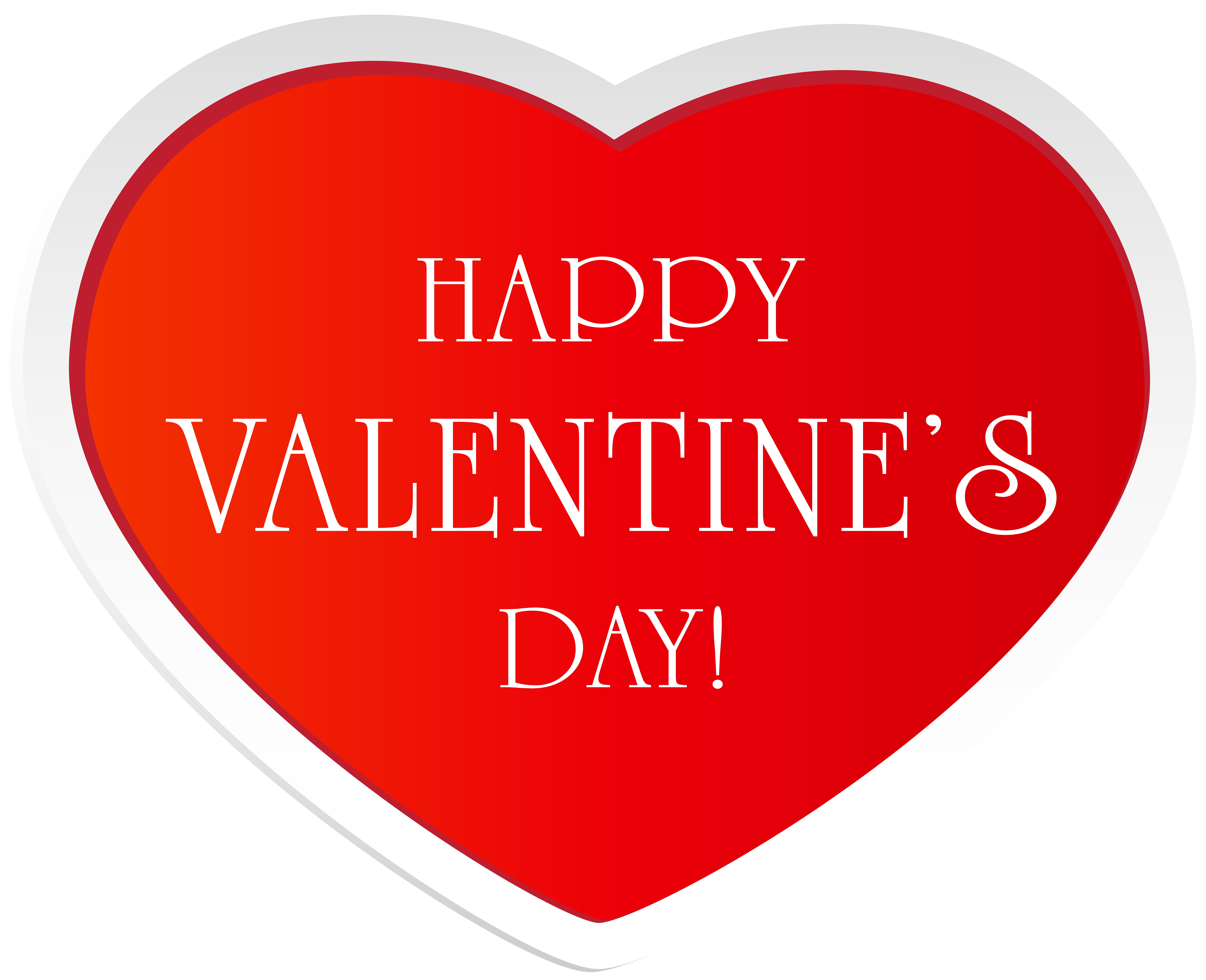 Happy heart clipart vector Happy Valentine's Day Red Heart Clip Art Image | Gallery ... vector