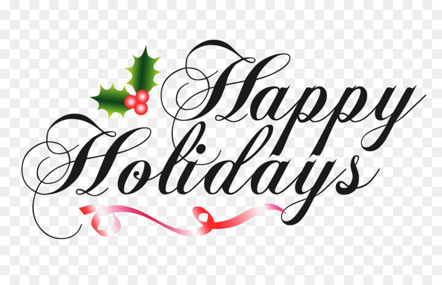 Happy holiday and happy new year clipart png free download Merry Christmas & Happy New Yeartransparent png image & clipart free ... png free download
