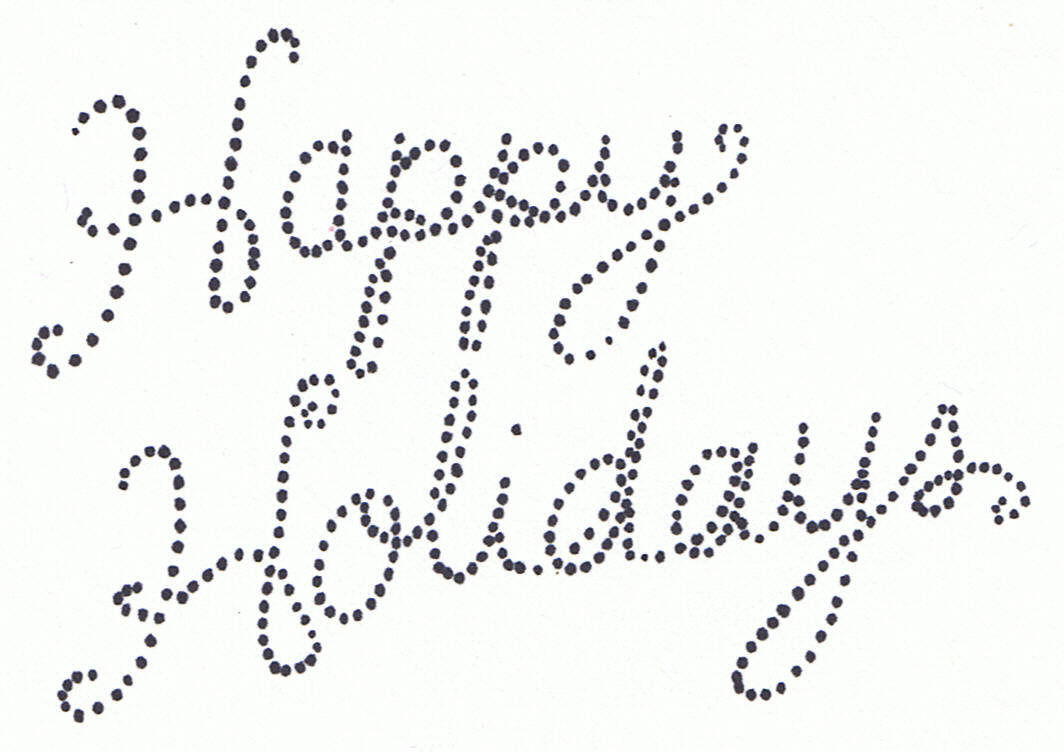 Happy holidays clipart black and white svg transparent stock Free Happy Holidays Cliparts, Download Free Clip Art, Free Clip Art ... svg transparent stock