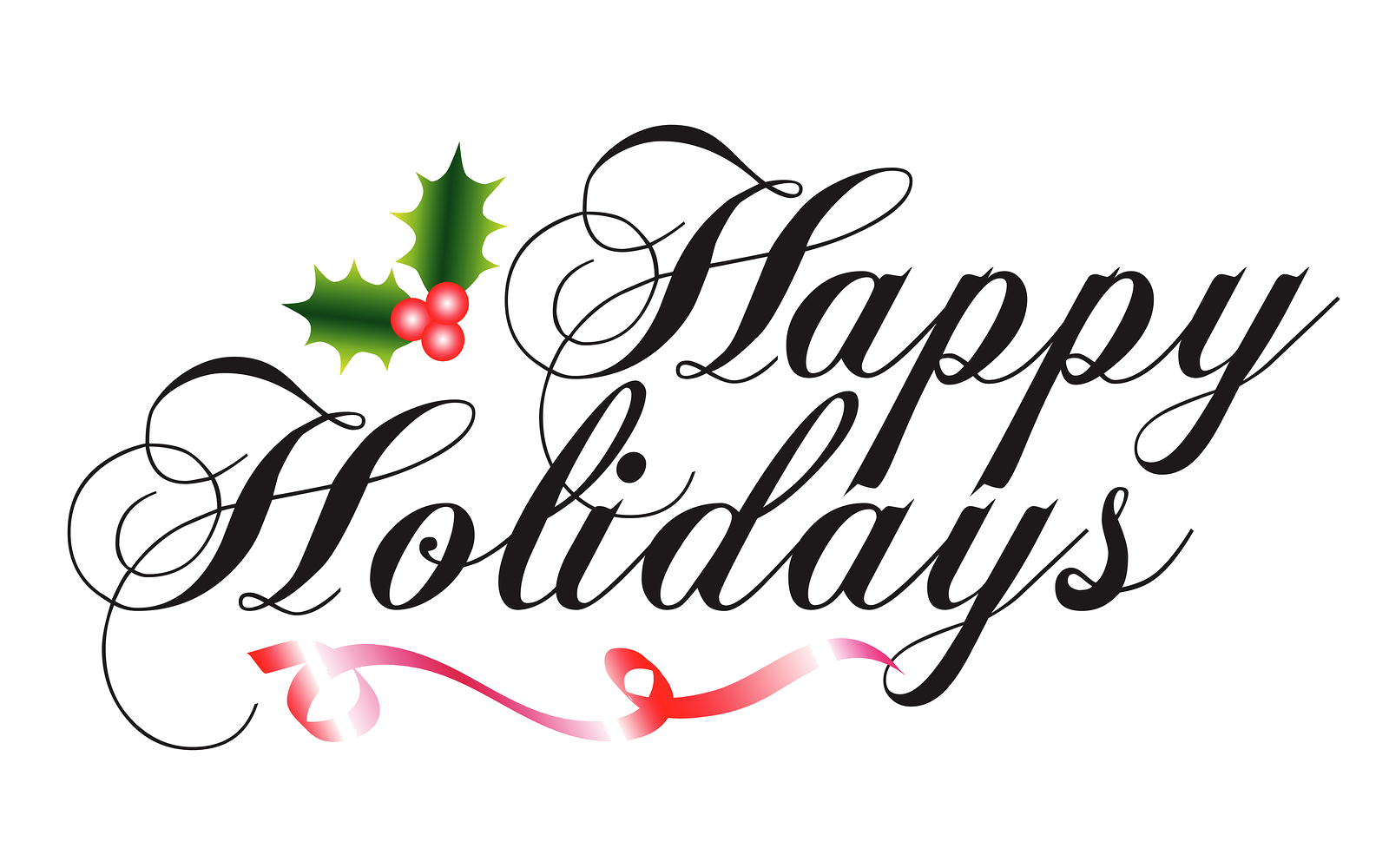 Happy holidays free clipart png black and white library Holiday -happy-holidays-clipart -the-cliparts-free-happy-holiday ... png black and white library