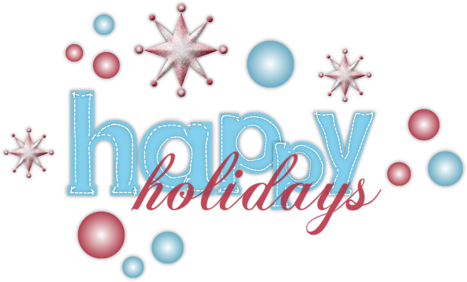 Happy holidays free clipart picture transparent library Happy Holidays Clipart - Clipart Junction picture transparent library
