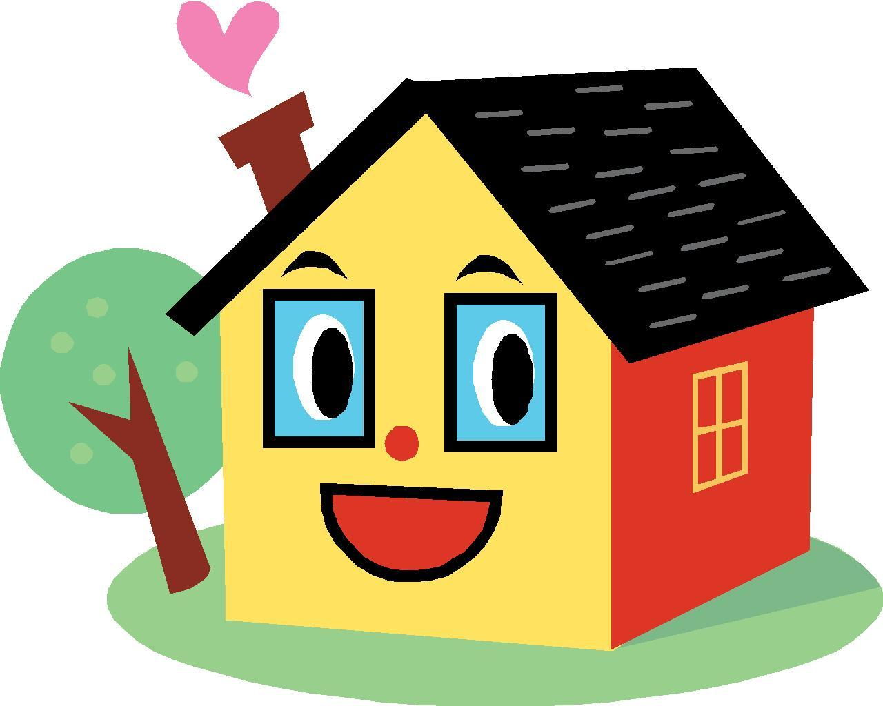 Happy home clipart image freeuse library Happy home clipart 3 » Clipart Portal image freeuse library