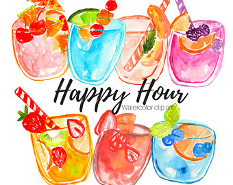 Happy hour border with cocktail clipart clip art library download Cocktails Clipart | Free download best Cocktails Clipart on ... clip art library download