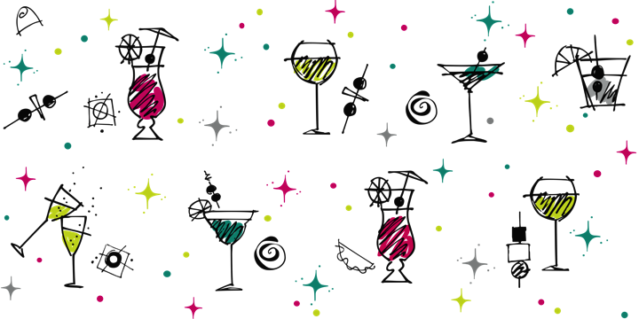 Happy hour border with cocktail clipart transparent download Happy Hour Pictures Clip Art & Look At Clip Art Images - ClipartLook transparent download