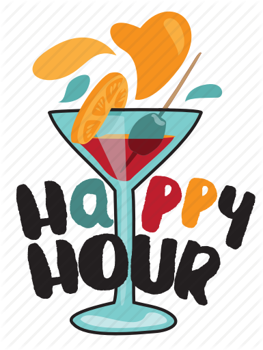 Clipart happy hour graphic free \'Food and Drink I\' by Pure Solution graphic free