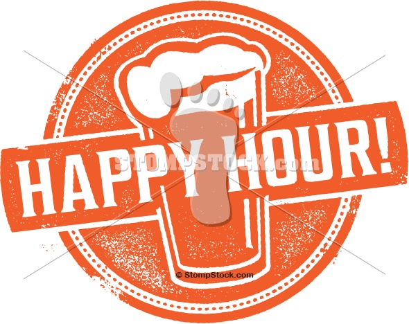Happy hour clipart banner transparent Happy Hour Beer Clip Art | StompStock - Royalty Free Stock Vector ... banner transparent
