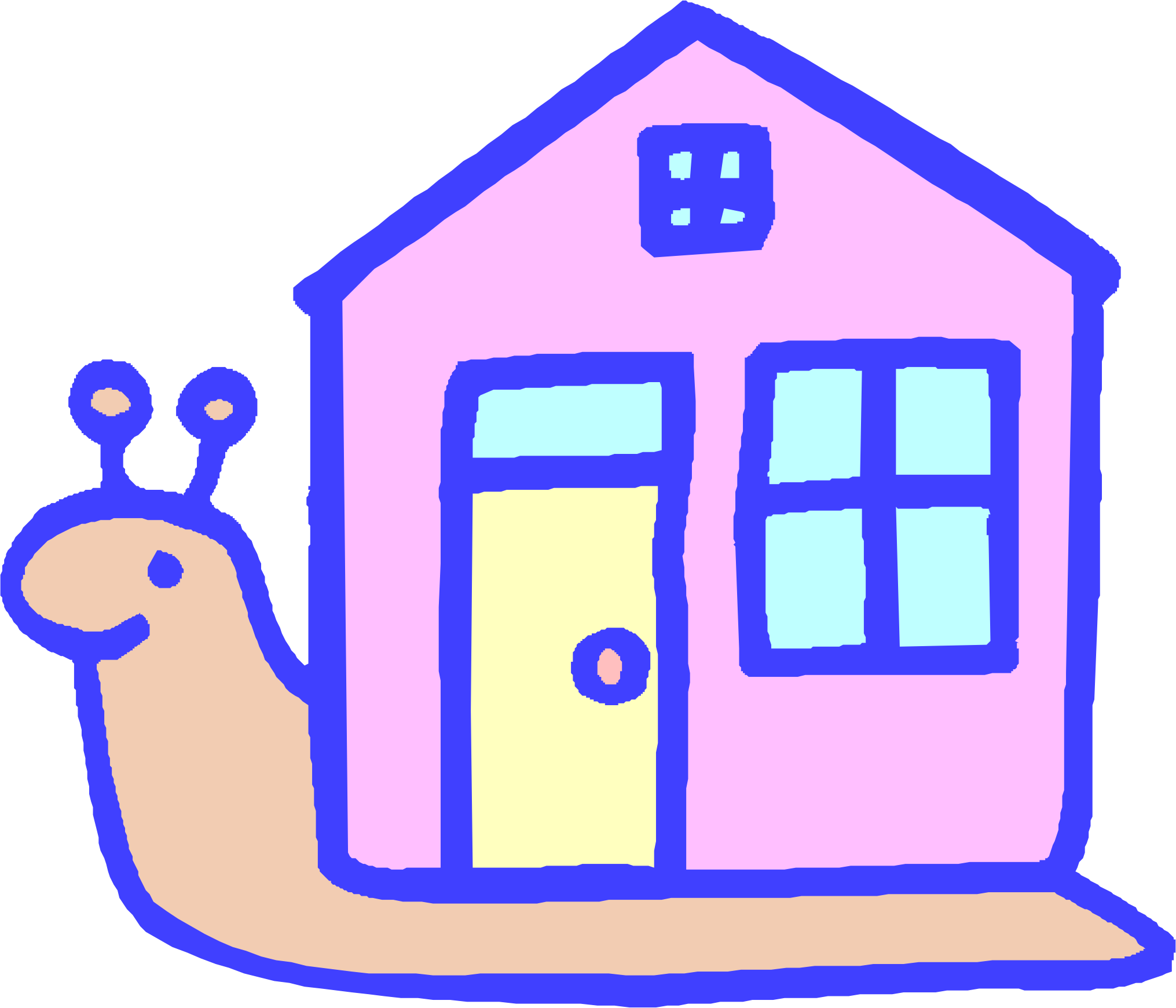 Happy house clipart svg black and white Clipart - Snail House svg black and white