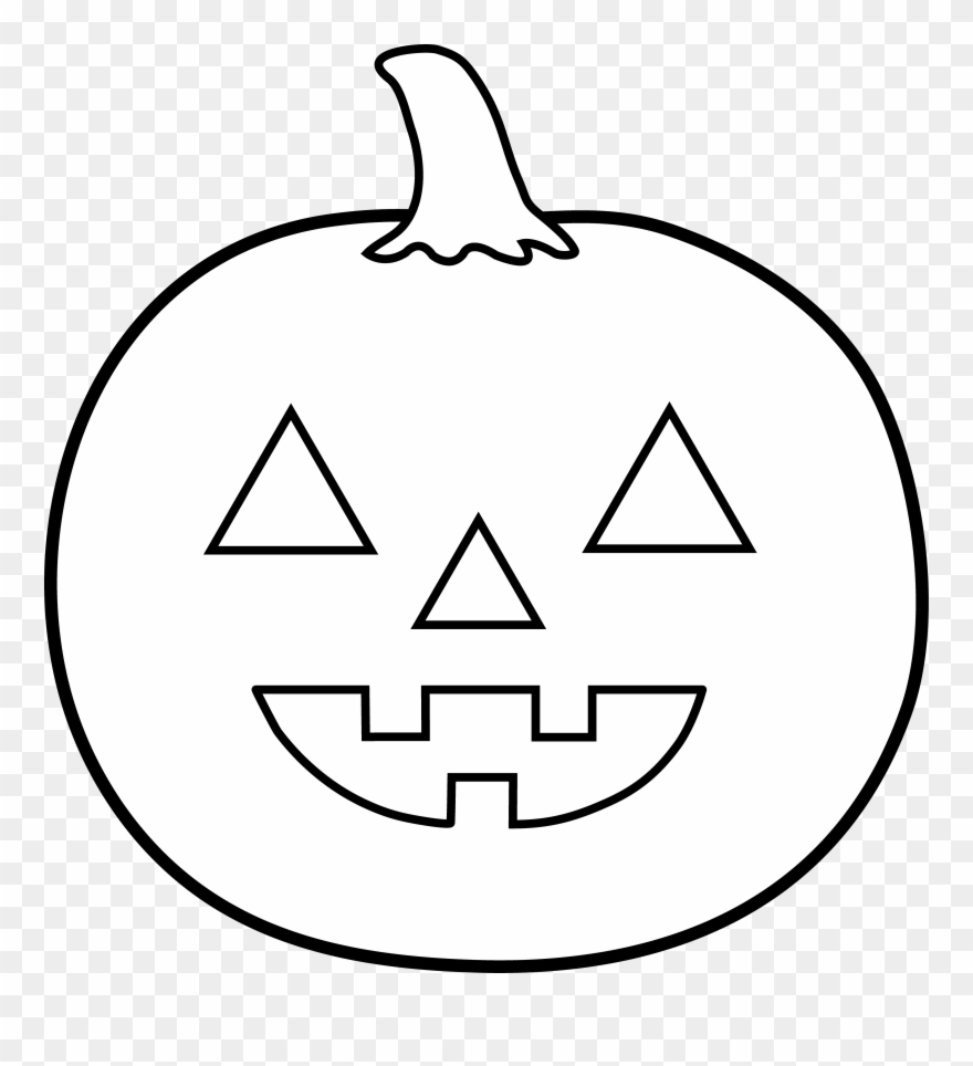 Happy jack o lantern clipart black and white free Jack O Lantern Black And White Jack Lantern Clipart - Black And ... free