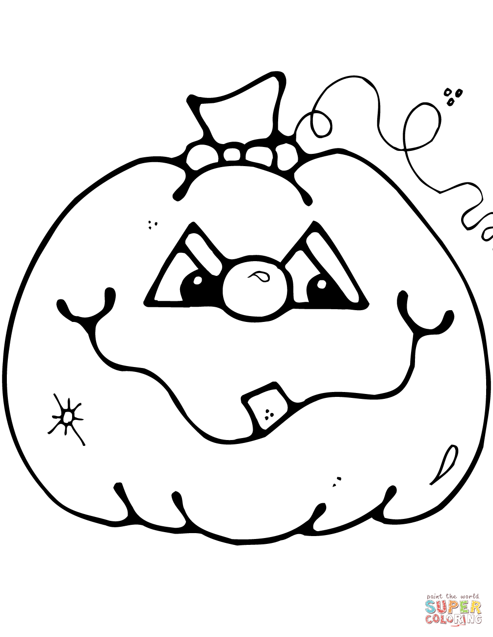 Happy jack o lantern clipart black and white picture royalty free download Jack O Lantern Black And White | Free download best Jack O Lantern ... picture royalty free download