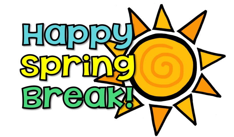 Happy last day of school clipart png black and white download Happy Spring Break! - Waverly Elementary School png black and white download
