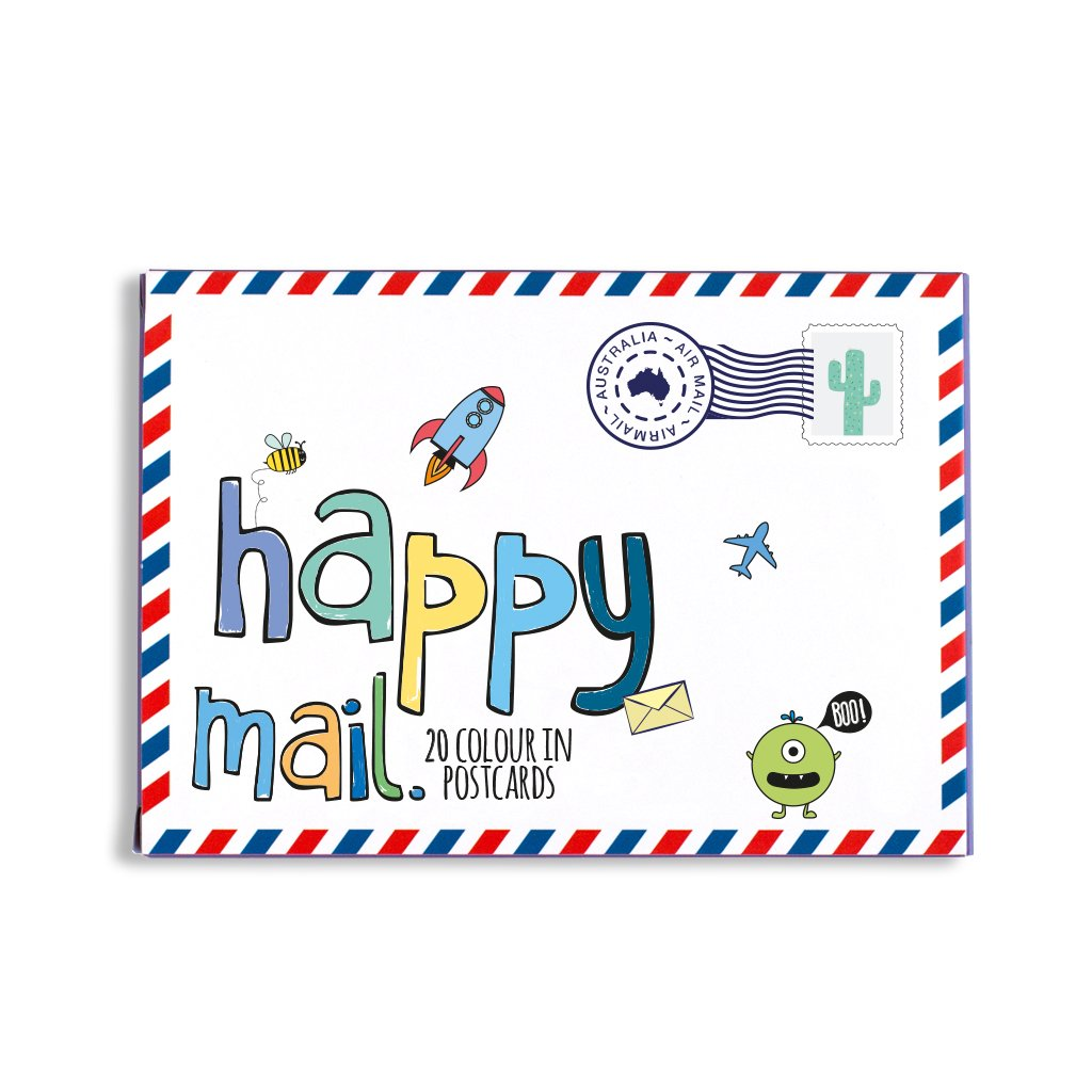 Happy mail clipart image library Happy mail - blue image library