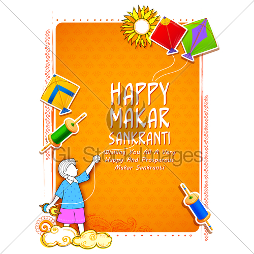 Happy makar sankranti clipart banner library Happy Makar Sankranti Wallpaper With Colorful Kite String... · GL ... banner library