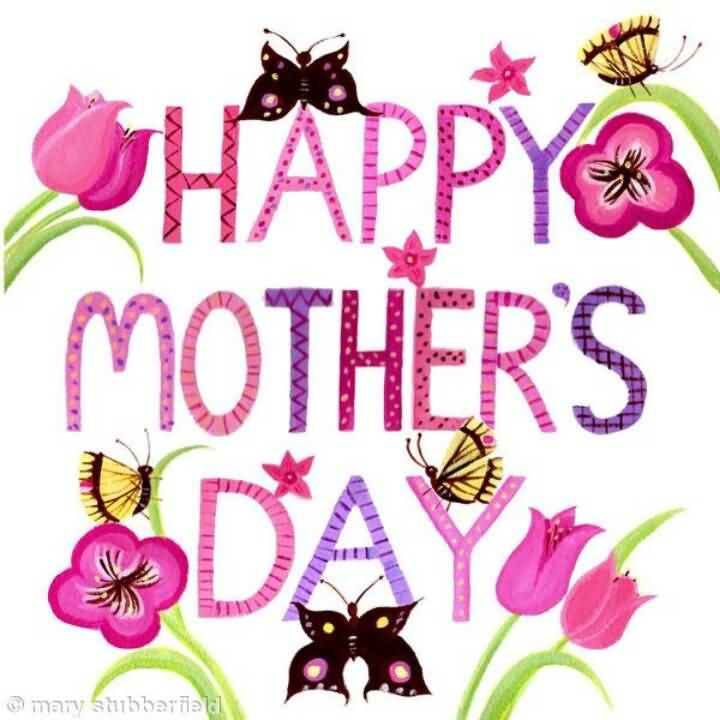 Happy mothers day 2017 clipart picture black and white library 55 Best Mother\'s Day 2017 Greeting Pictures And Photos picture black and white library