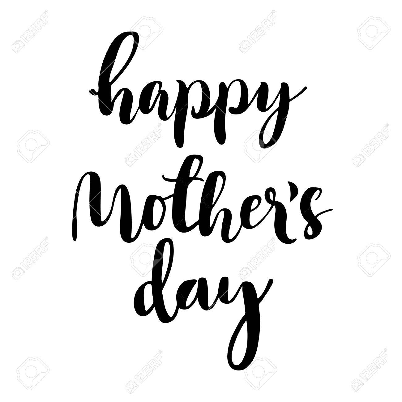 Happy mothers day black and white clipart svg library stock Mothers Day Clipart Black And White | Free download best Mothers Day ... svg library stock