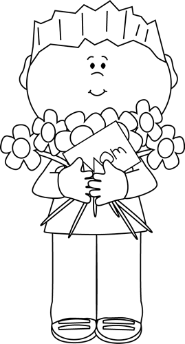 Happy mothers day black and white clipart jpg black and white stock clip art black and white | Black and White Happy Mother\'s Day Boy ... jpg black and white stock