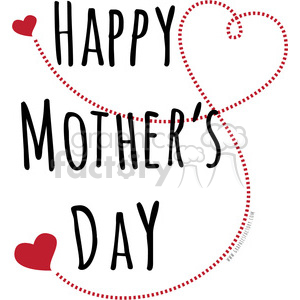 Happy mother-s day clipart images jpg black and white happy mothers day love clipart. Royalty-free clipart # 394847 jpg black and white