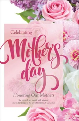 Happy mothers day kjv proverbs 1 8 bible verses clipart svg freeuse stock Celebrating Mother\'s Day (Proverbs 31:26, KJV) Bulletins ... svg freeuse stock