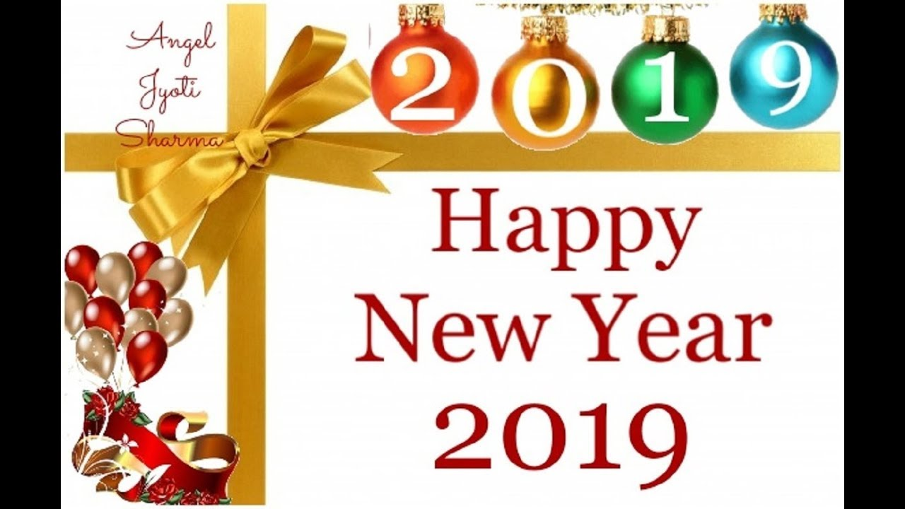 Happy new year 2009 clipart