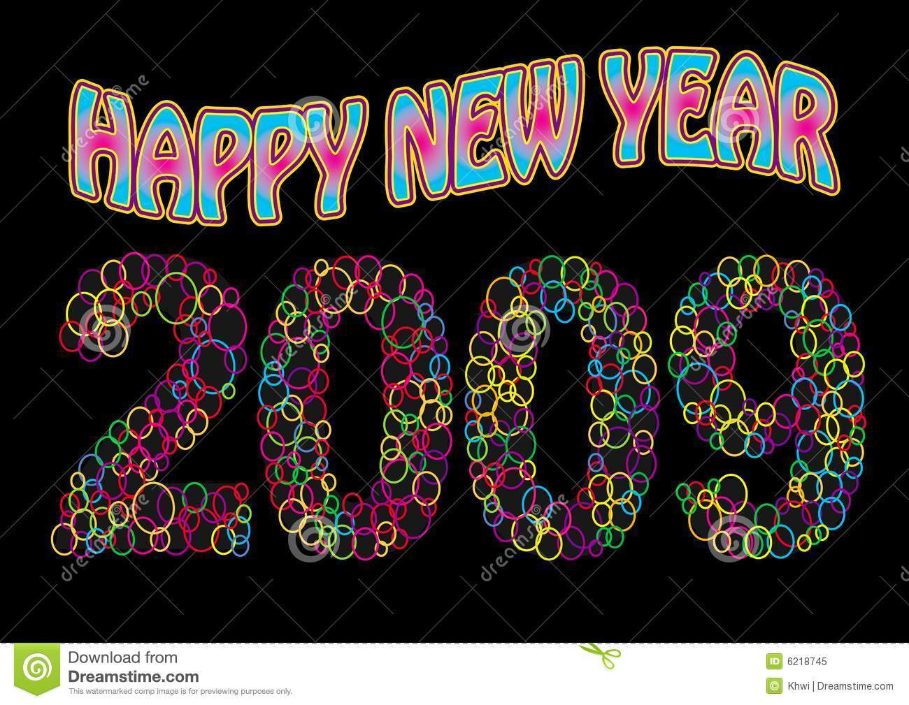 Happy new year 2009 clipart image freeuse Happy new year 2009 clipart 9 » Clipart Portal image freeuse