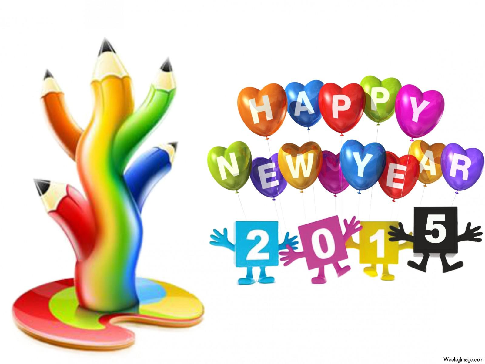 Happy new year 2016 clipart free download graphic black and white download Free Happy New Year Cartoon Images, Download Free Clip Art, Free ... graphic black and white download