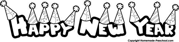 Happy new year 2016 clipart black and white png freeuse library 77 Free Happy New Year Clipart - Cliparting.com png freeuse library