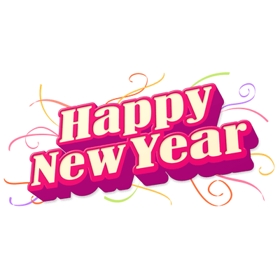Happy new year clipart transparent background clipart library download Download HAPPY NEW YEAR Free PNG transparent image and clipart clipart library download
