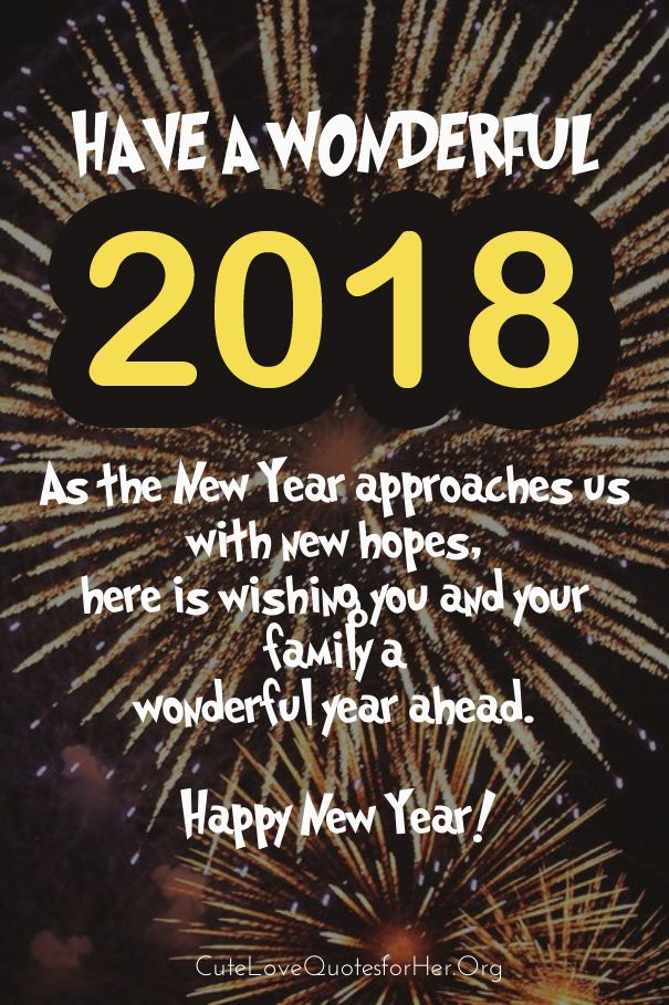Happy new year 2016 clipart for outlook clip black and white stock New Year Greeting Cards 2018 | Happy New Year 2019 Wishes Quotes ... clip black and white stock