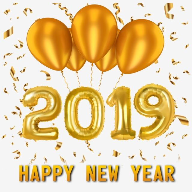 Happy new year text clipart banner download New Year 2019 Png And Psd, Gold, Happy New Year, New PNG Transparent ... banner download
