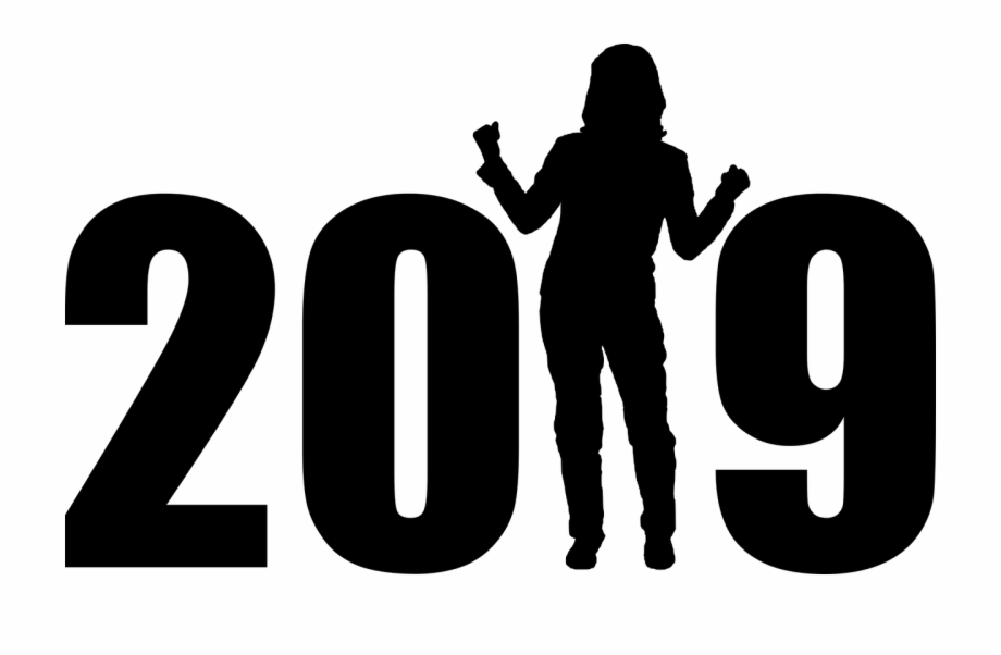 Happy new year 2019 clipart text banner freeuse library Happy New Year 2019 Png - Happy New Year 2019 To Everyone Free PNG ... banner freeuse library