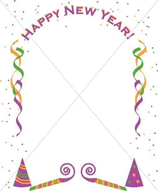 Happy new year borders clipart jpg stock Happy new year borders clipart 2 » Clipart Portal jpg stock