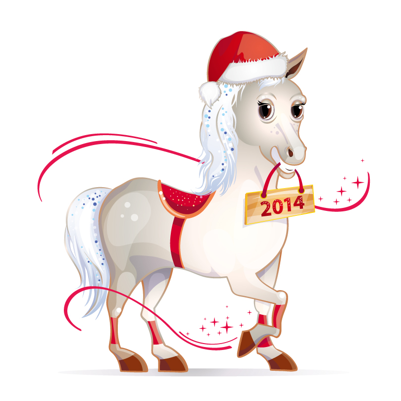 Happy new year horse clipart svg library stock Free Happy New Year Cartoon Images, Download Free Clip Art, Free ... svg library stock