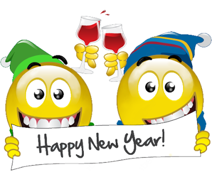 Happy new year smiley face clipart vector free Emoticons - Google+ | Smileys & Emojis | Happy new year greetings ... vector free