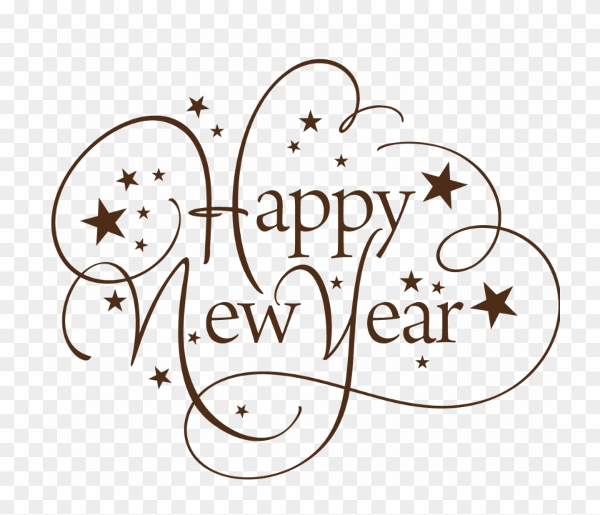 Happy new year text clipart vector free Happy New Year Png - Happy New Year Text Png, Transparent Png ... vector free