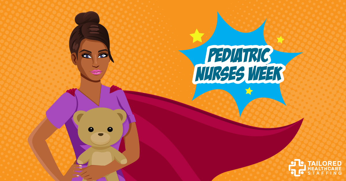 Happy nurses week 2018 clipart clipart transparent stock Celebrate Pediatric Nurses Week   Tailored Healthcare Staffing clipart transparent stock